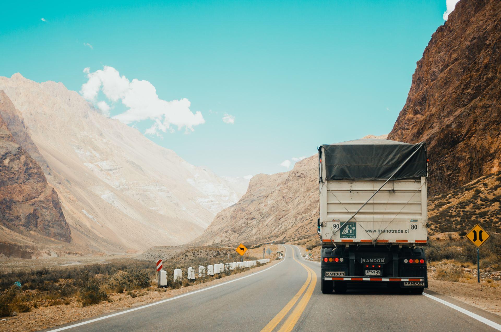 Välfungerande reservdelar för lastbil